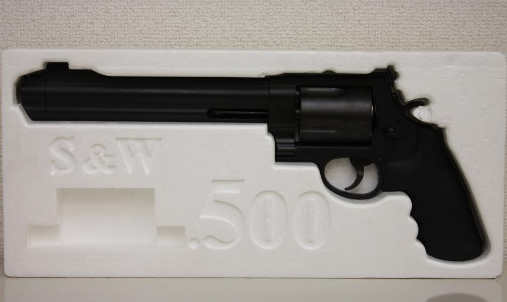タナカ S&W M500 マグナム・リボルバー