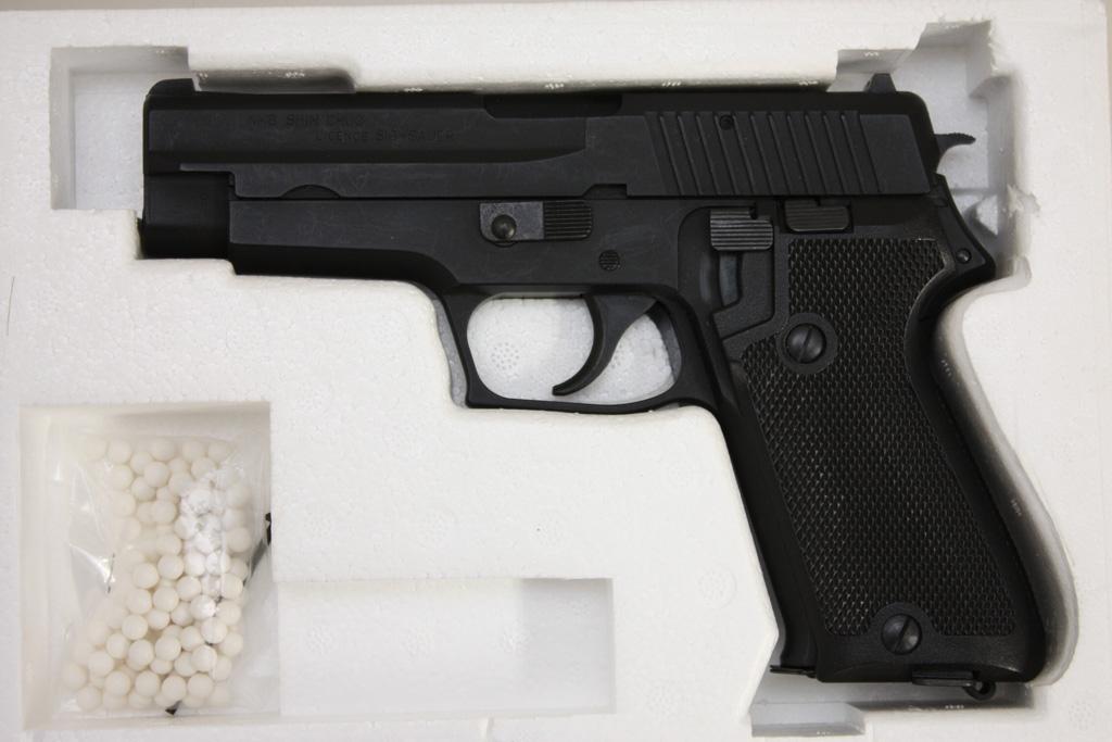 タナカ ガスガン 9mm拳銃 SIG SAUER P220 航空自衛隊