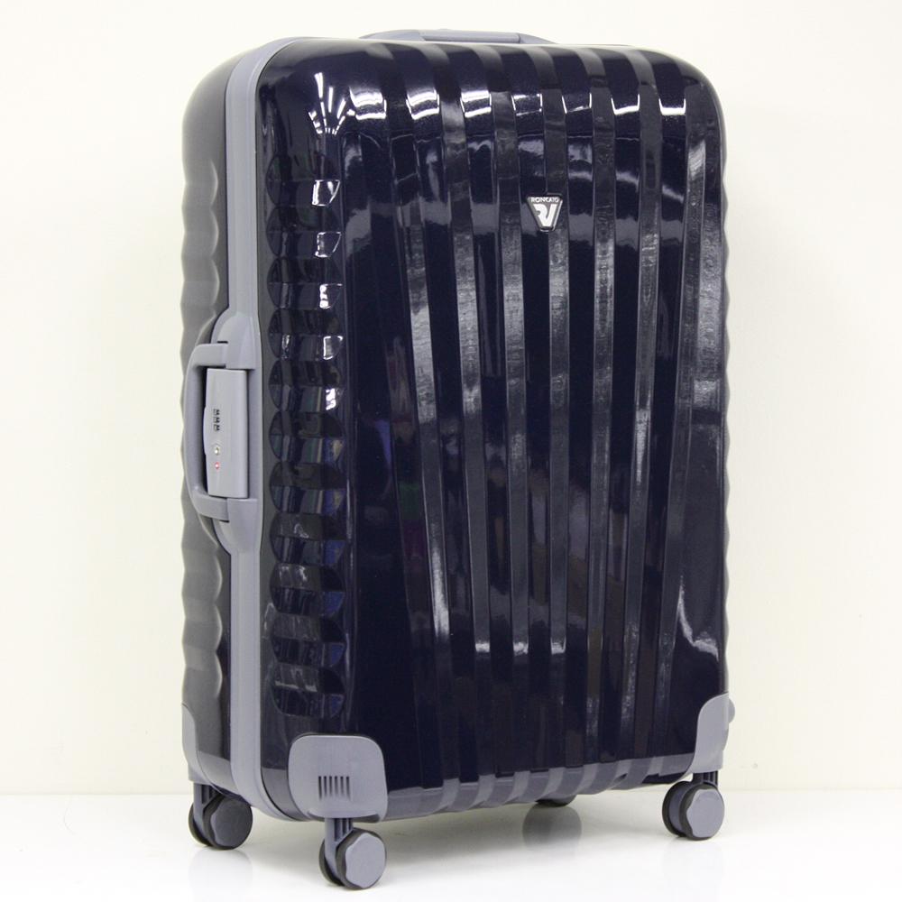 ウノ UNO 100L ブルーシルバー 4輪 TSAロック