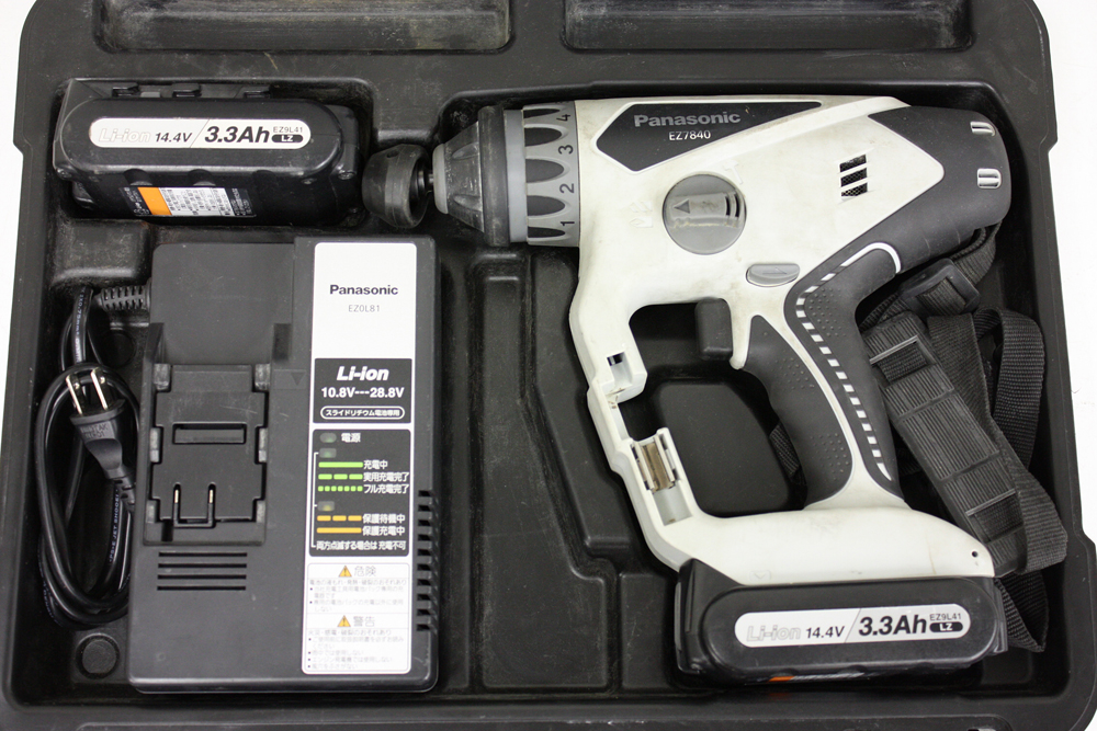 充電マルチハンマードリル EZ7840LZ2S-B