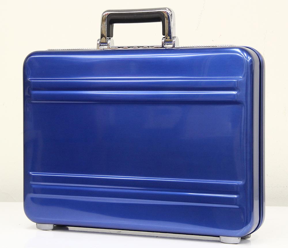 アタッシュケース ブルー