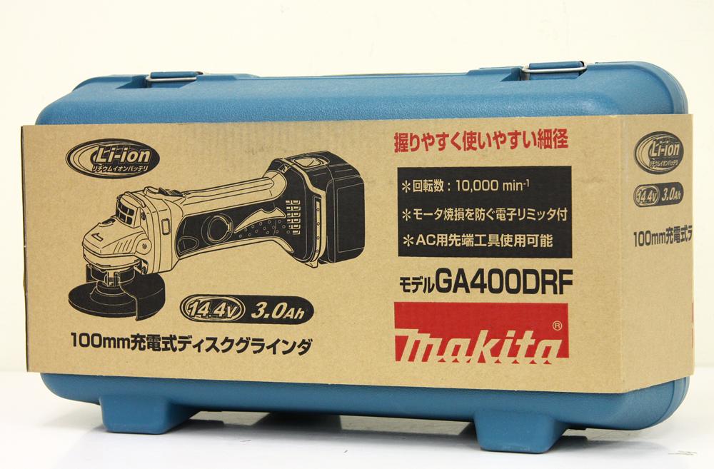 充電式ディスクグラインダ GA400DRF