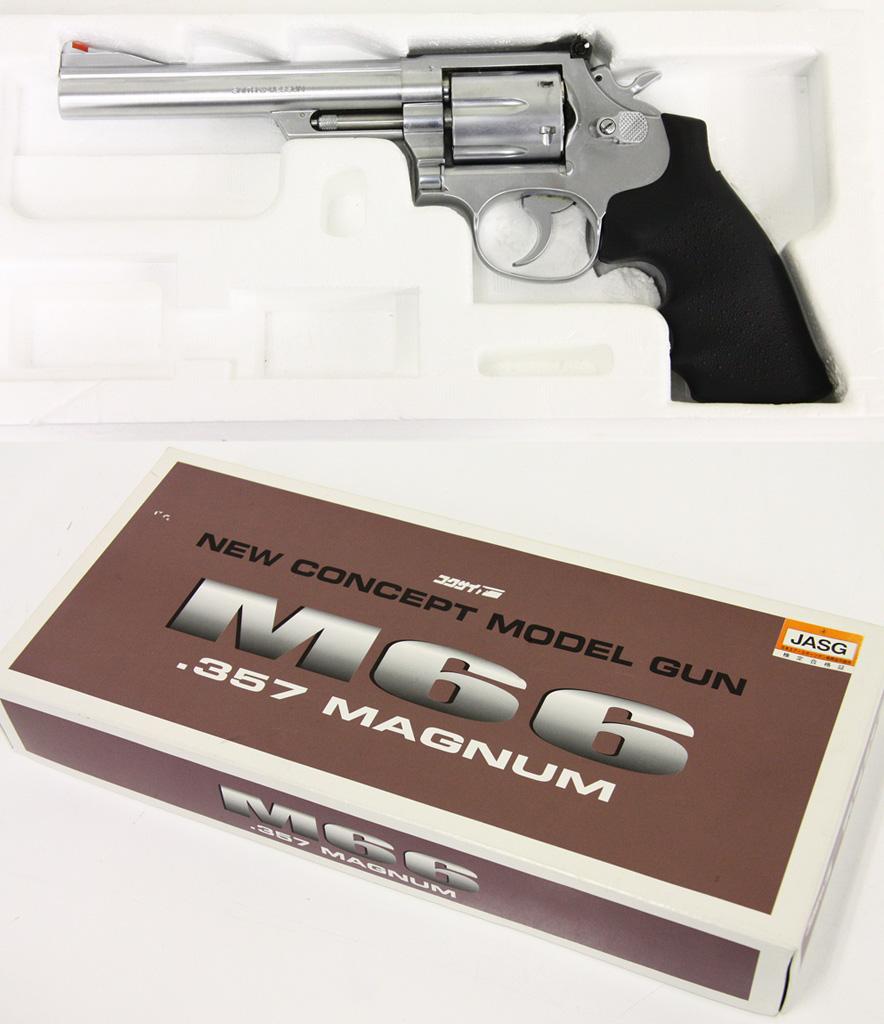 S&W M66 6インチ .357マグナム