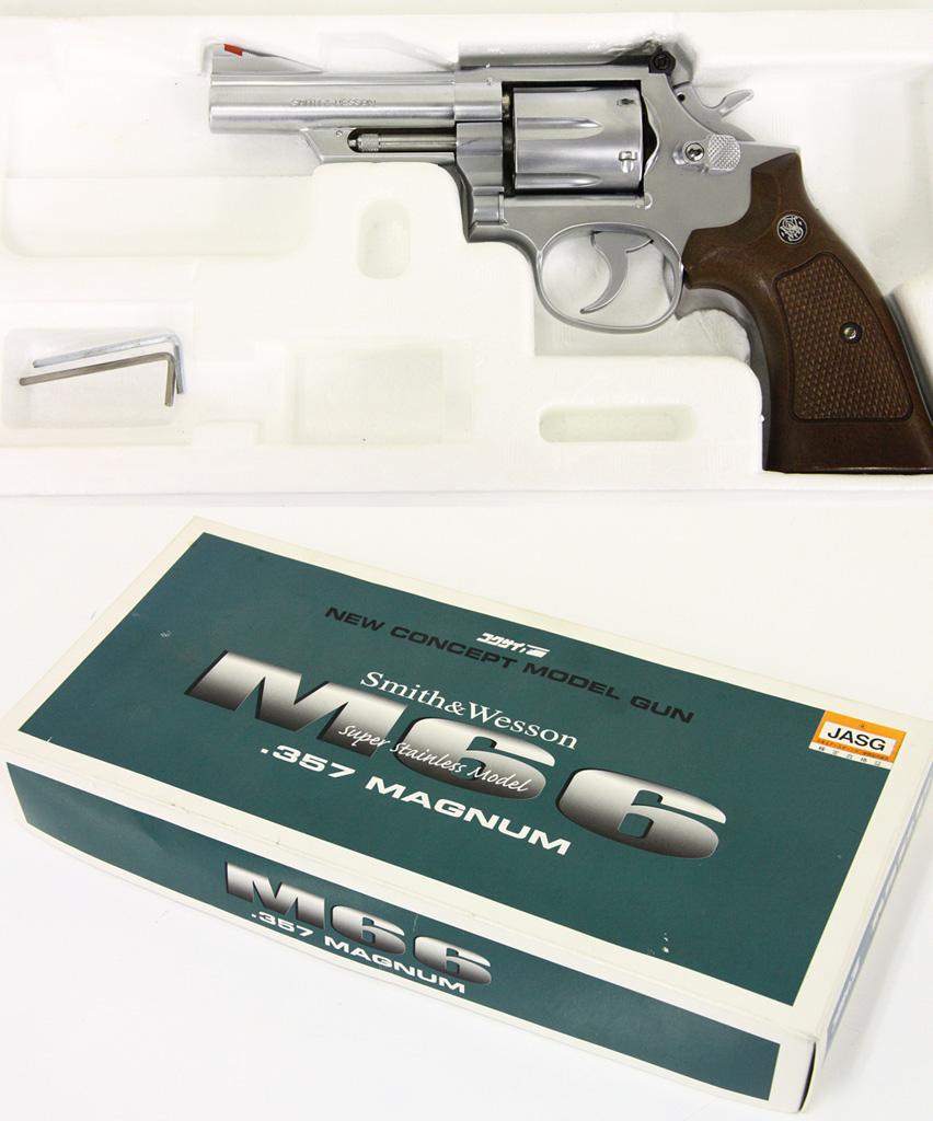 S&W M66 4インチ .357マグナム