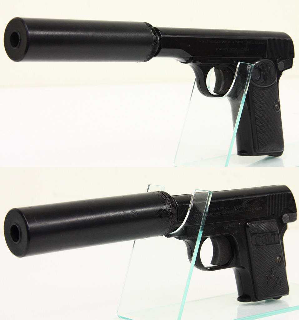 M1910 サイレンサー + 25 Auto サイレンサー