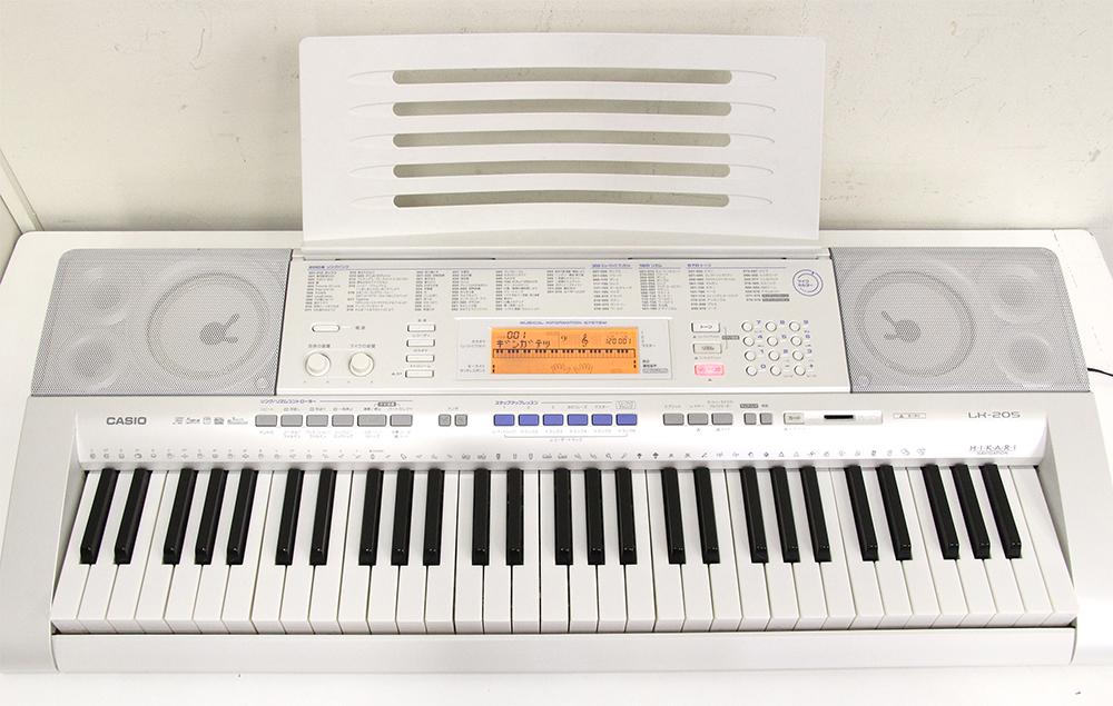 光ナビゲーションキーボード LK-205 61鍵盤