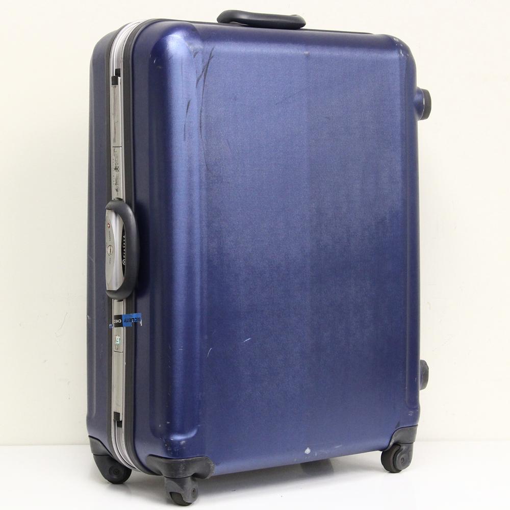 大容量スーツケース ブルー 4輪 TSA