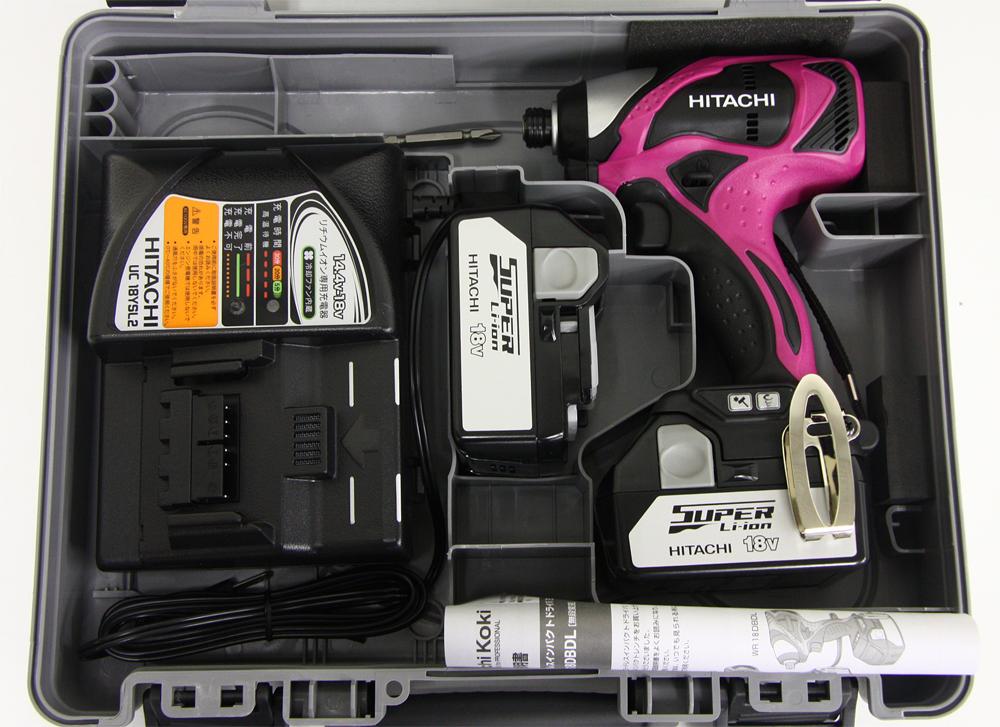 18V コードレスインパクトドライバ WH 18DBDL(2LSCK)