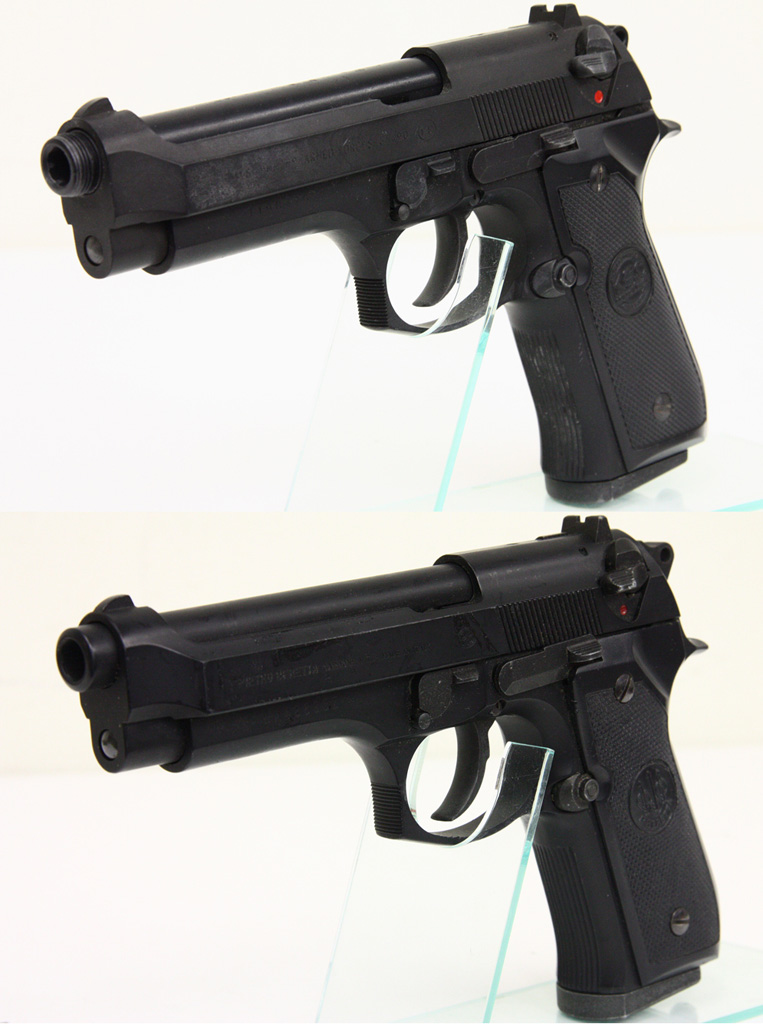 U.S. 9mm M9 HW ハードキック + ベレッタ M92FS