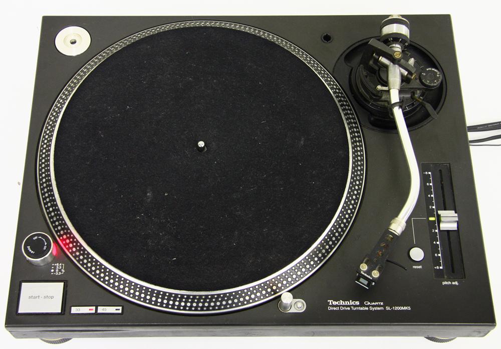 ターンテーブル SL-1200MK5-K ブラック