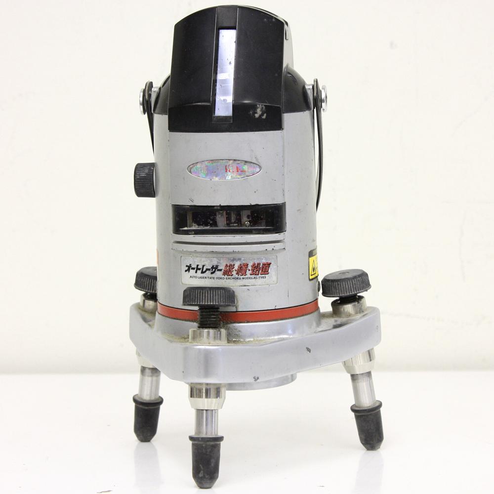 レーザー墨出し器 オートレーザー縦横鉛直 AL-TYE3J 受光器等