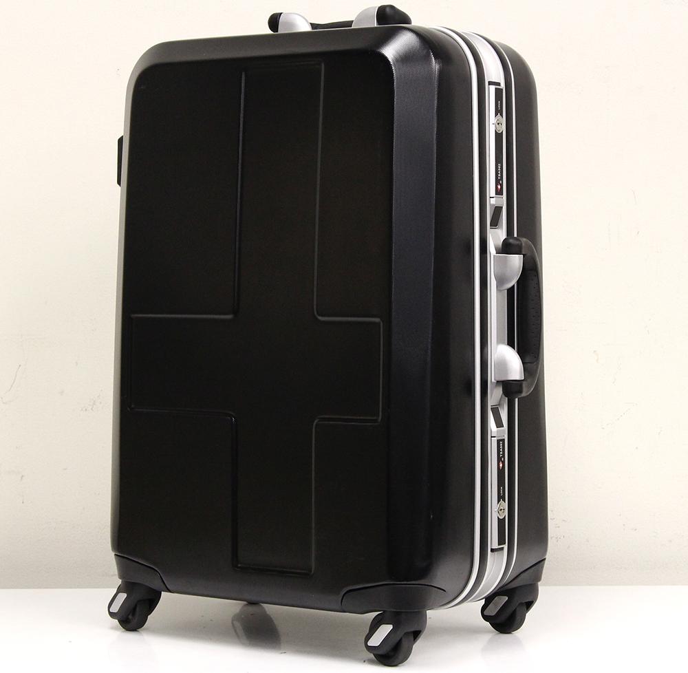 スーツケース INV22E 54L TSA ブラック