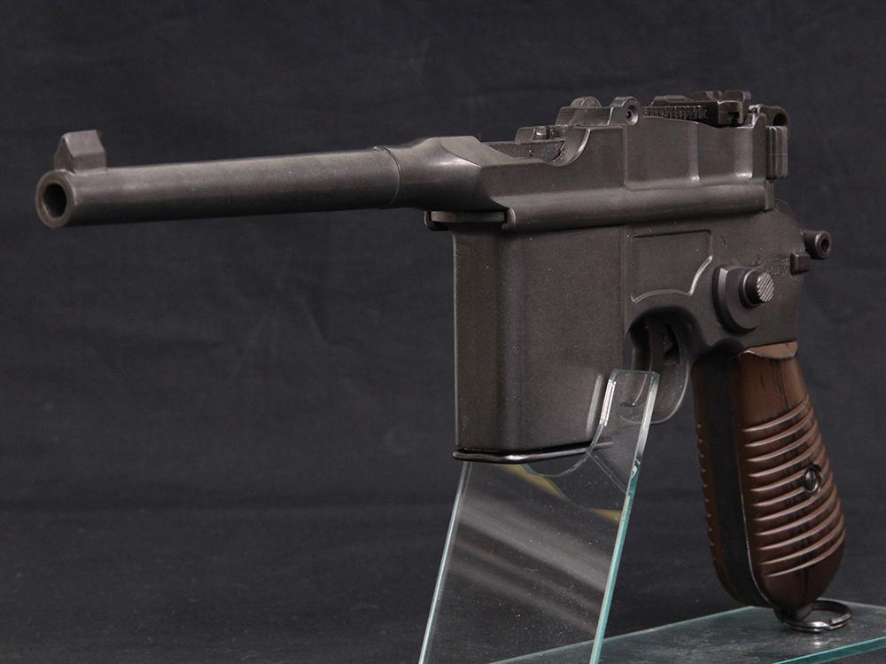 モーゼル M712 モデルガン HW 革製ホルスター付