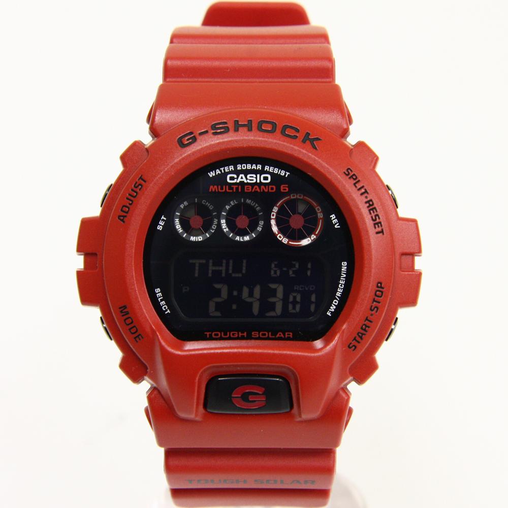 G-SHOCK バーニング・レッド GW-6900RD-4JF 電波 ソーラー