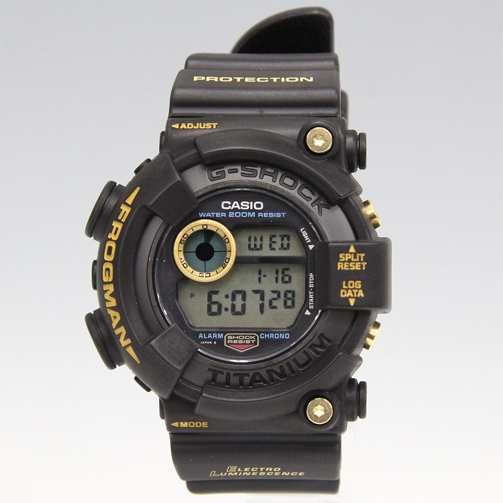 G-SHOCK 黒金蛙 ゴールドチタン フロッグマン DW-8200B-9A