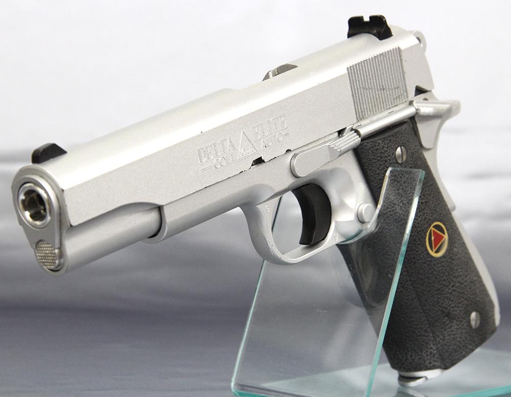 ルト デルタエリート 10mmオート シルバー ガスガン