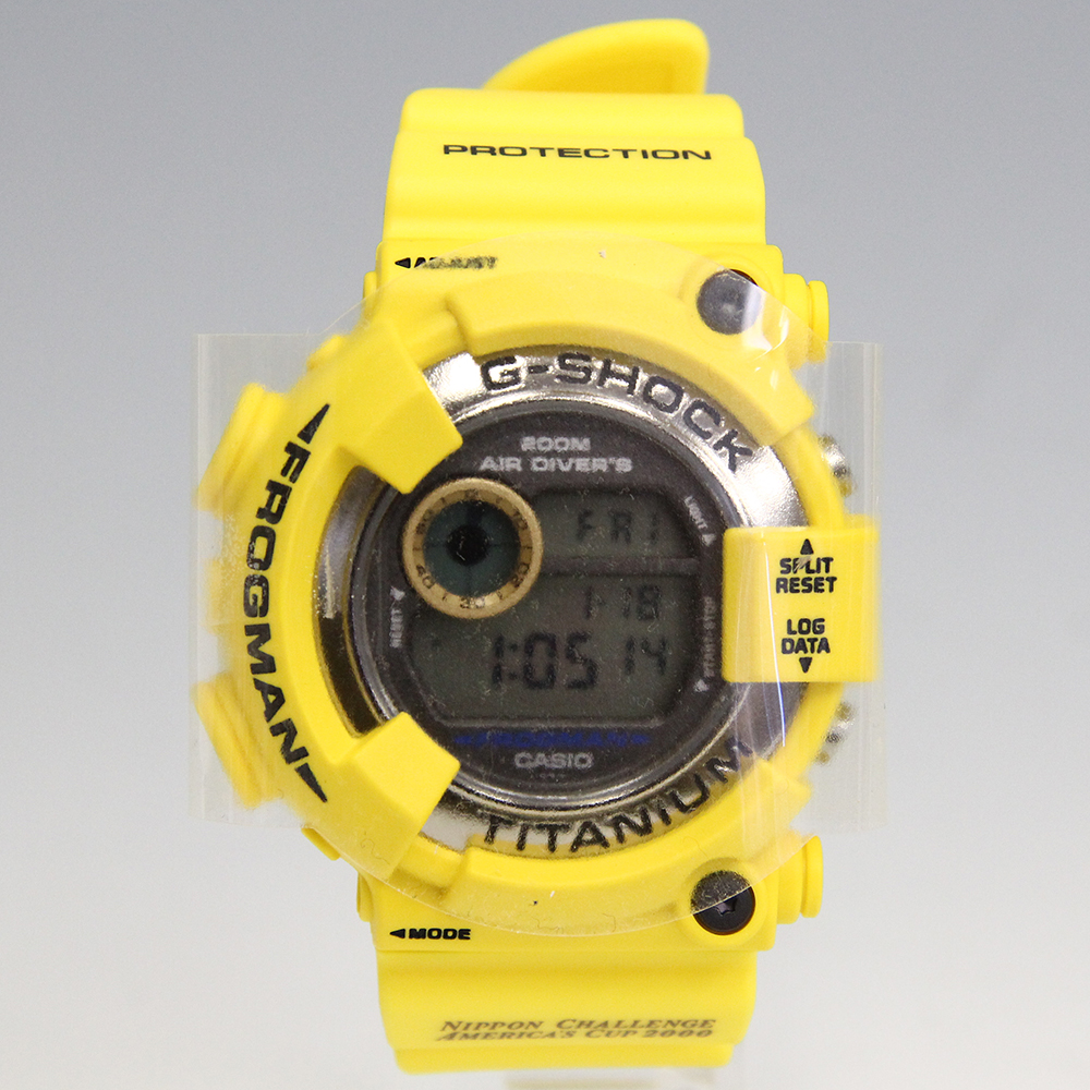 G-SHOCK アメリカズカップ2000 イエロー フロッグマン DW-8200AC-9T