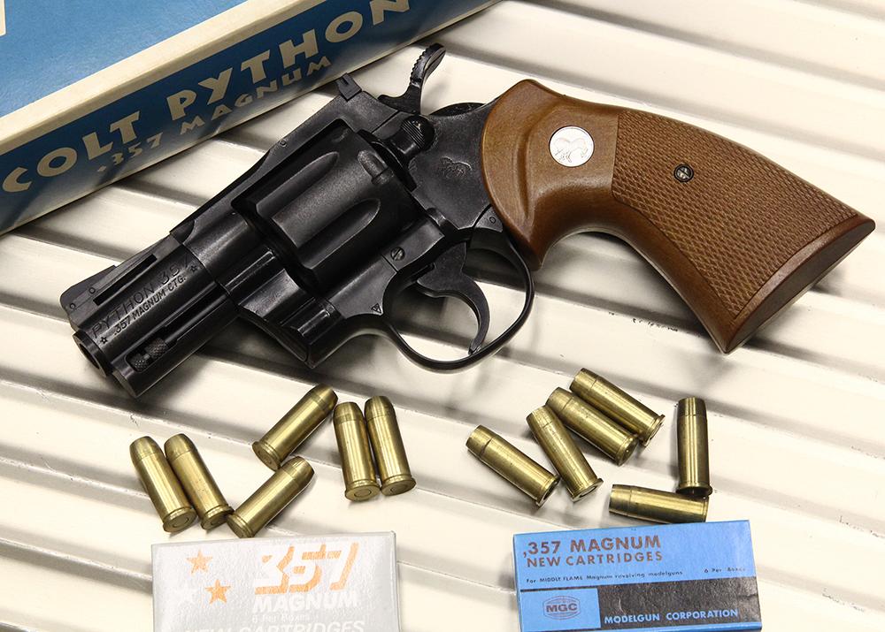 コルトパイソン .357マグナム 2.5インチ HW モデルガン