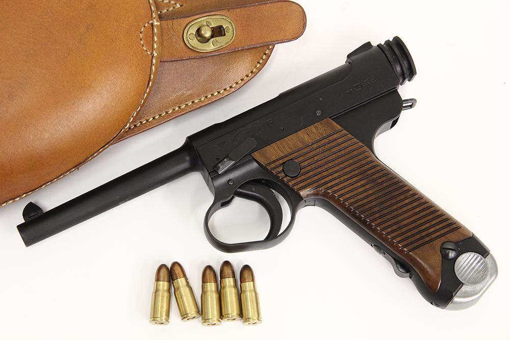 十四年式拳銃 後期型 ダミーカートモデルガン HW