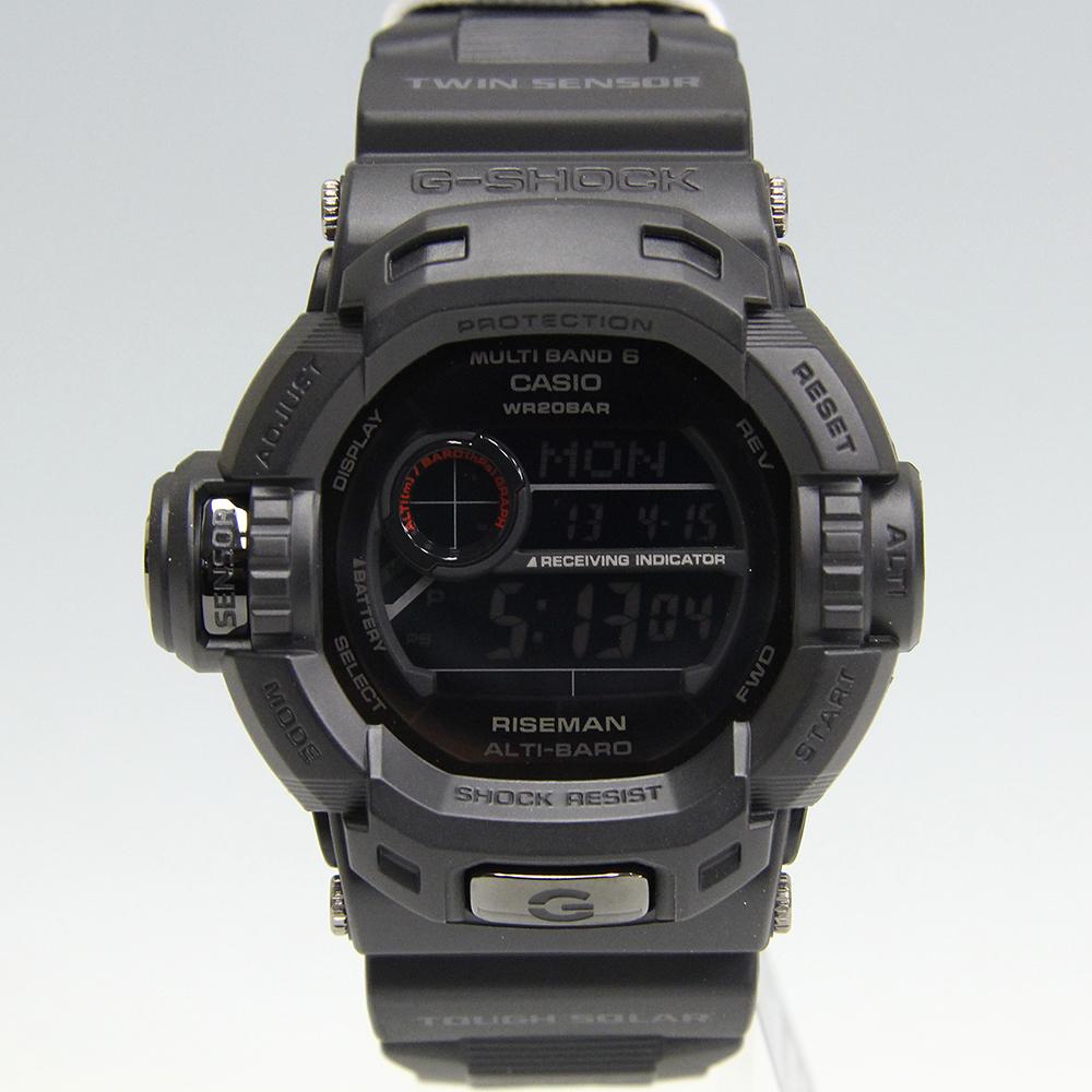 G-SHOCK ライズマン メン・イン・マット・ブラック GW-9200MBJ-1JF