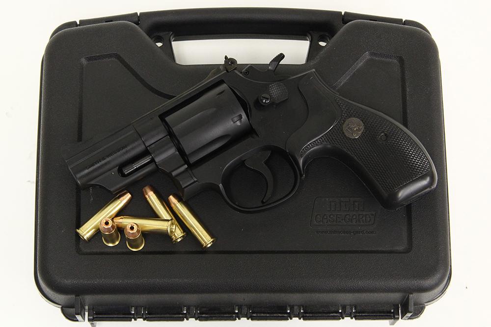 S&W M19 2.5インチ 発火式モデルガン パックマイヤー製ラバーグリップカスタム