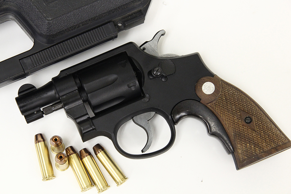 M10 オールド 2インチ 発火式モデルガン グリップアダプター付