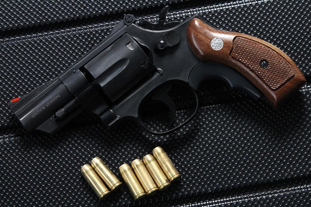 S&W M19 .357マグナム 2.5インチ HW 限定木製グリップ
