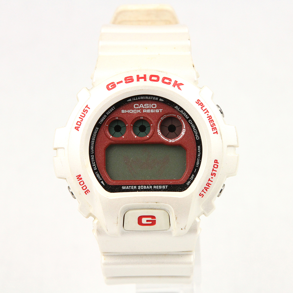 G-SHOCK DW-6900CM-7JF カスタマイズG ホワイト