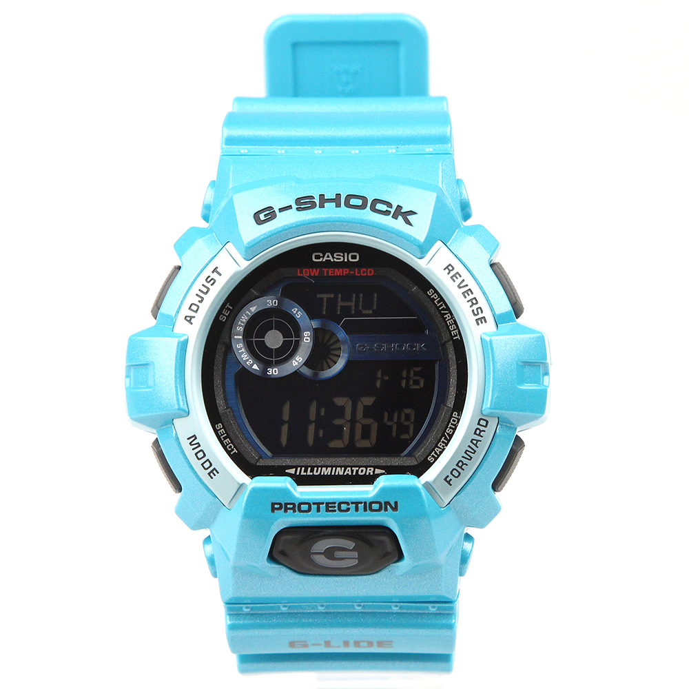 G-SHOCK G-LIDE GLS-8900-2JF ライトブルー