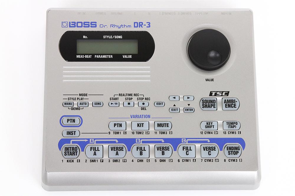 ボス BOSS Dr. Rhythm DR-3 リズムマシン