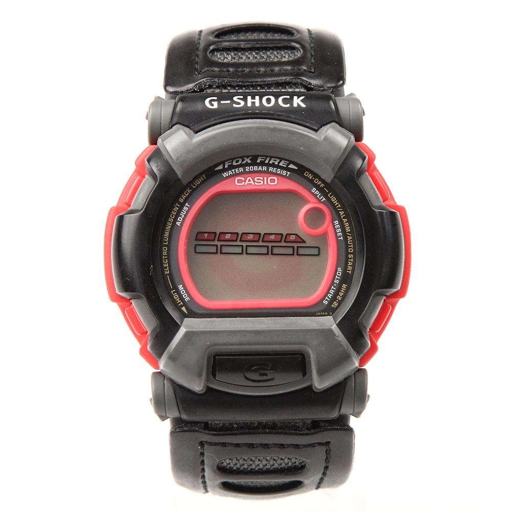 G-SHOCK FOX FIRE DW-002BJ-4 ネグザクス ブラック×レッド
