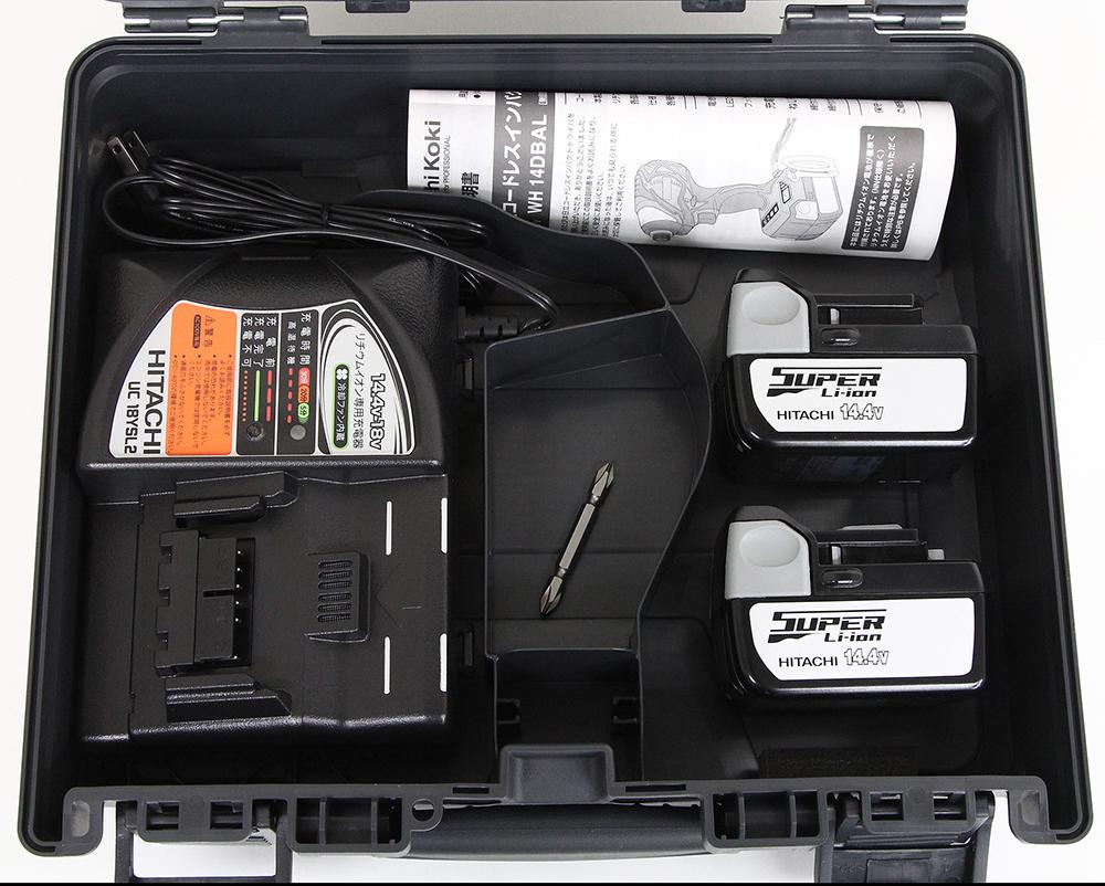 バッテリー BSL1430(2個) + 充電器 UC18YSL2 + ケース セット O491
