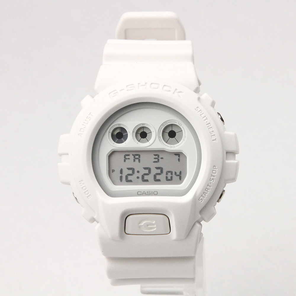 G-SHOCK DW-6900WW-7DR ソリッドカラーズ ホワイト