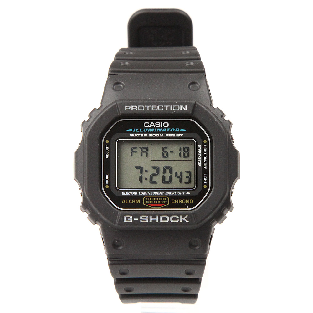 G-SHOCK DW-5600E-1VCT スピード 海外モデル