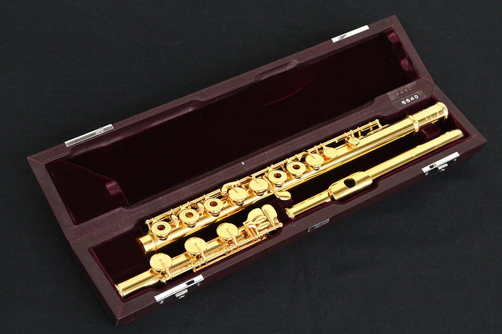 AD 24金メッキ 総銀製 H足部管