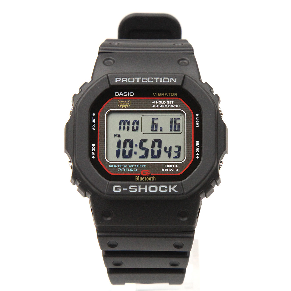 G-SHOCK GB-5600AA-1JF Bluetooth対応