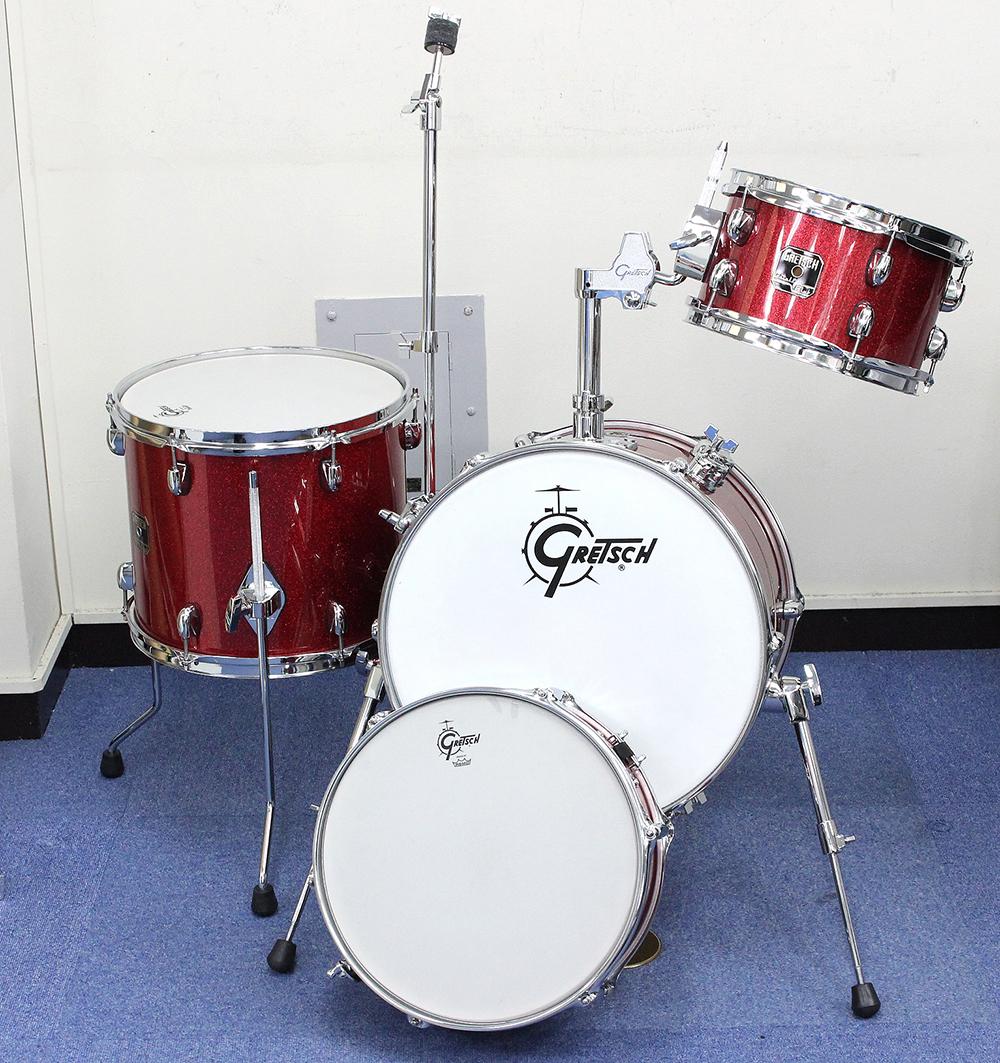 CC-S264X-TRS レッドスパークル ドラムセット