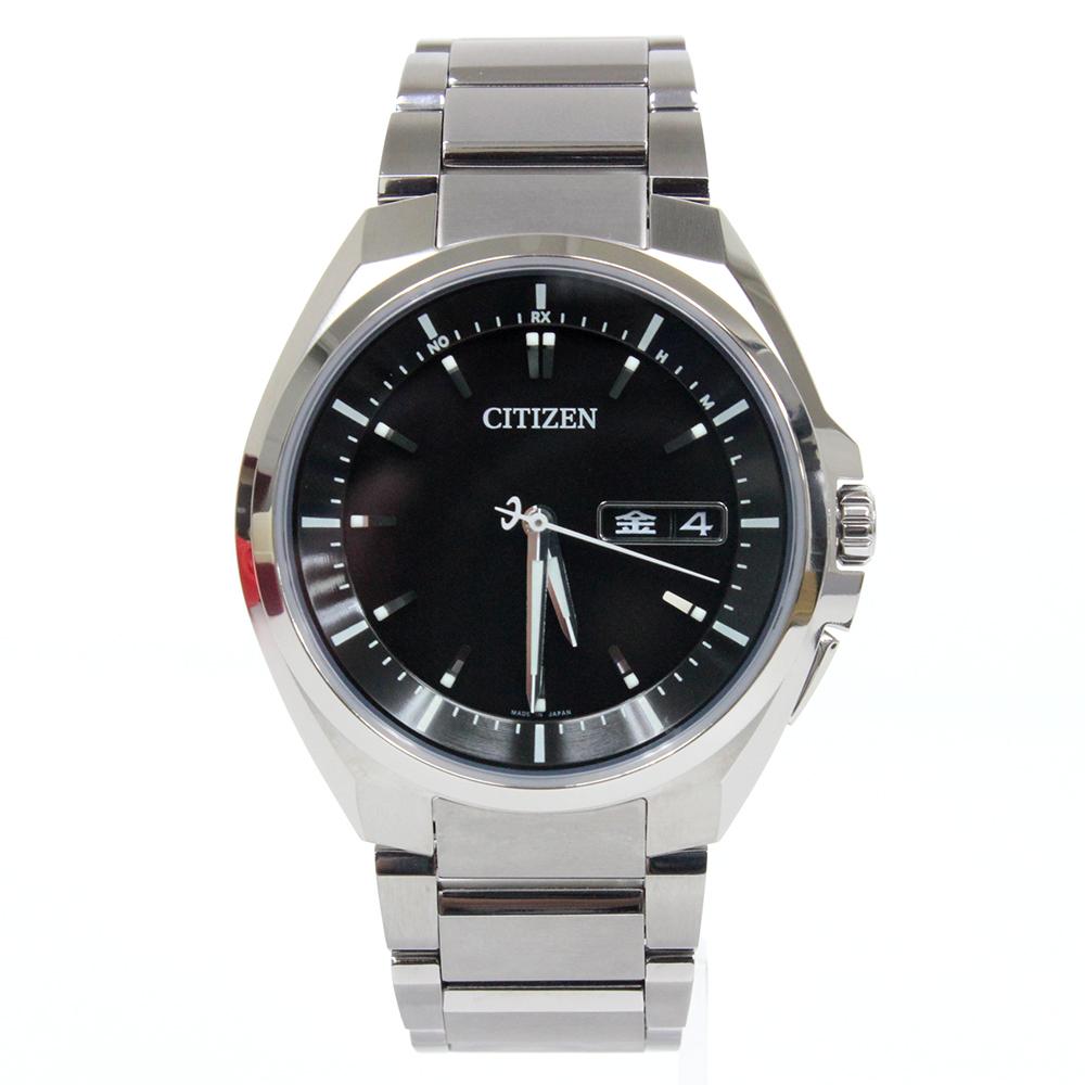 ATTESA エコ・ドライブ電波時計 AT6010-59E
