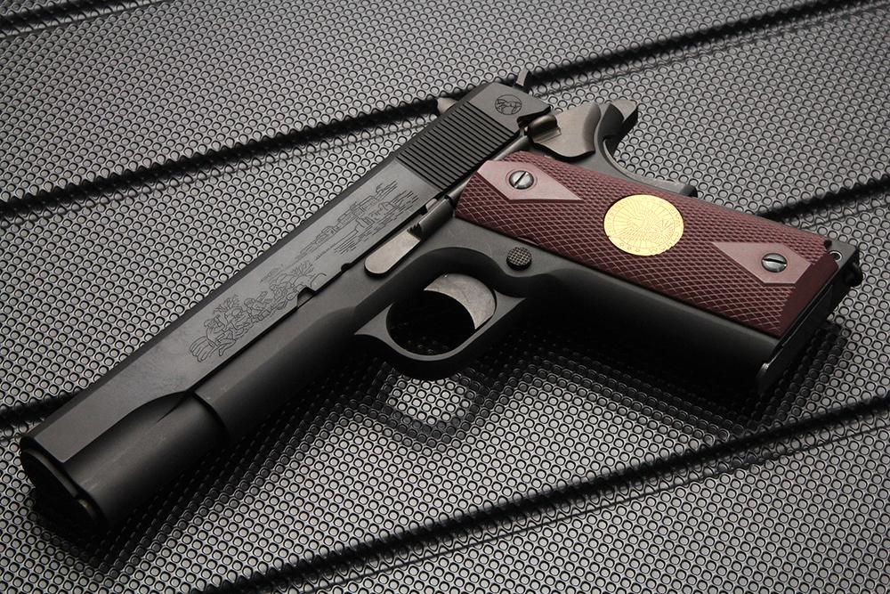 ガバメント M1911 第一次大戦記念モデル HW モデルガン