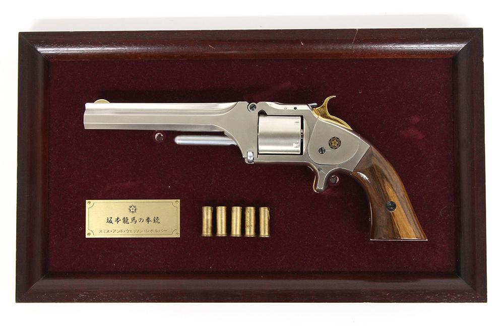 ミント S&Wレボルバー 坂本 龍馬の拳銃 モデルガン