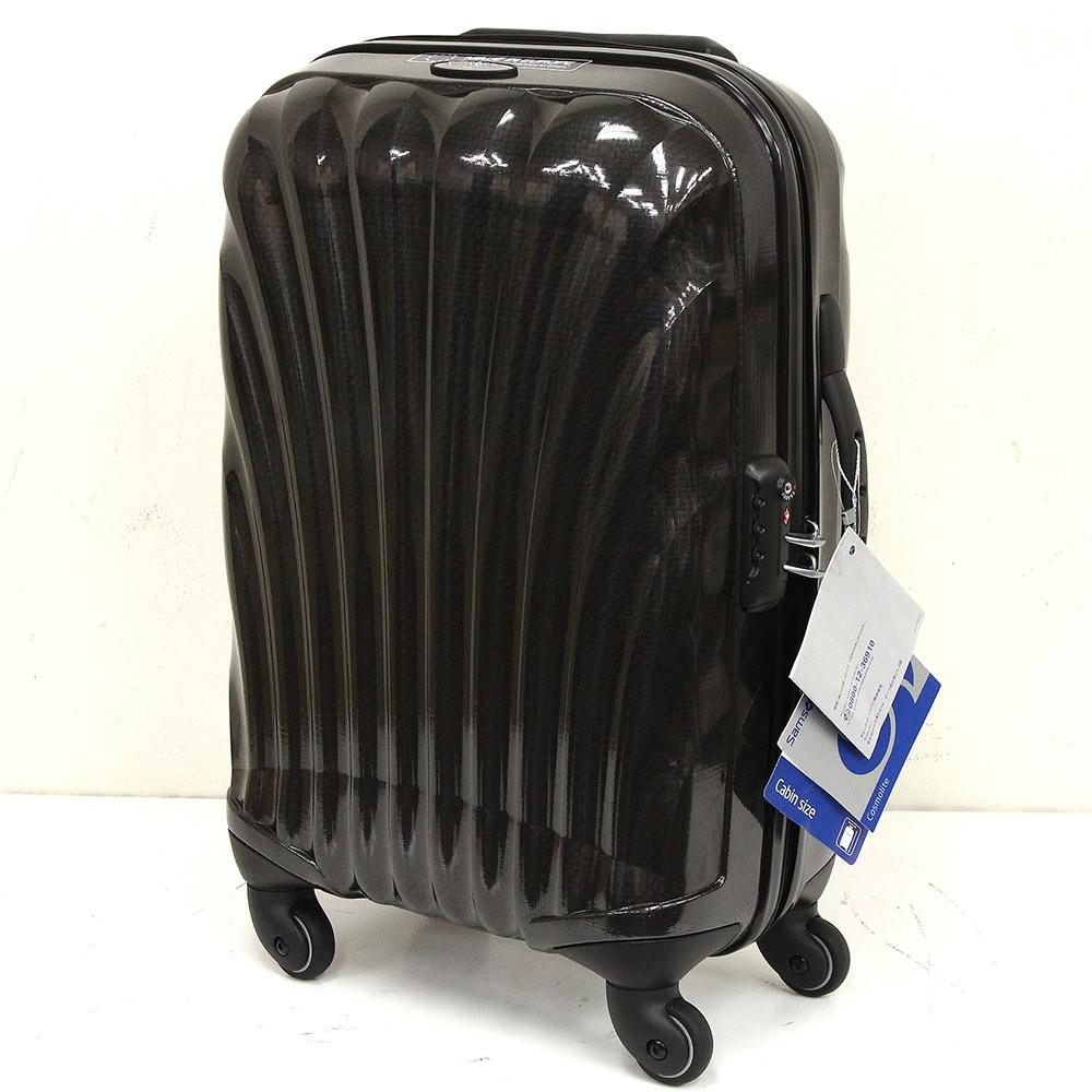 コスモライト スピナー 55cm ブラック 33L V22 09002 4輪 TSAロック付き