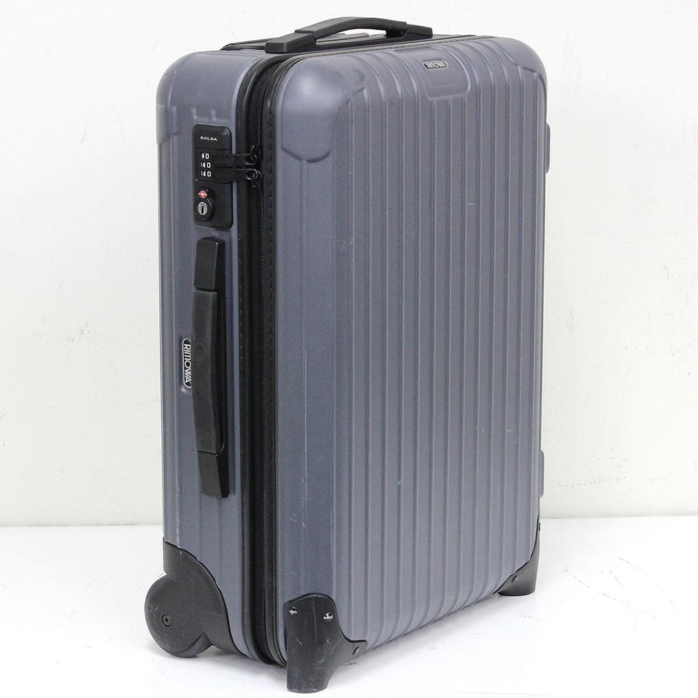 サルサ 33L 837.52 マットグレー ビジネストローリー 2輪 TSAロック付き