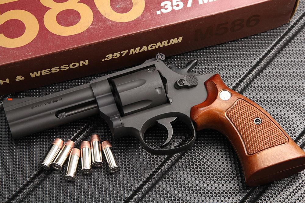 S&W M586 4インチ モデルガン