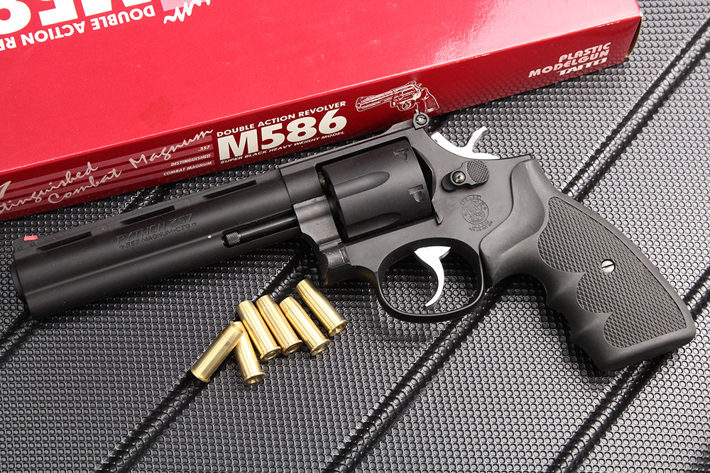 スマイソン SMYTHON M586 6インチ HW モデルガン