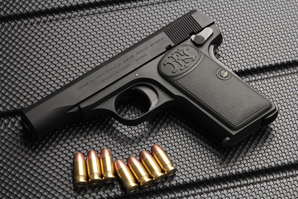 ブローニング M1910 HW モデルガン