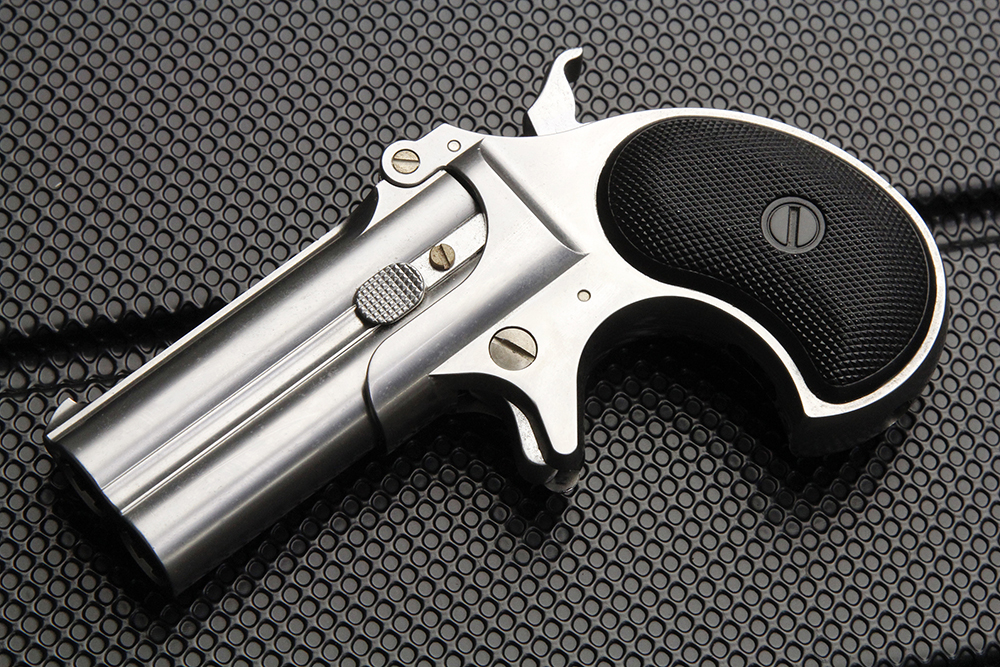 デリンジャー 8mm シルバー ABS ガスガン