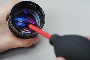 カメラレンズのお手入れ方法と保管方法