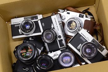捨てる前に確認を!古いカメラの処分方法