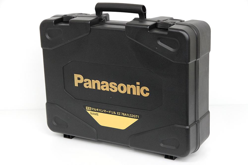 パナソニック 充電マルチハンマードリル EZ78A1LS2GT1 限定色 ブラック&ゴールド