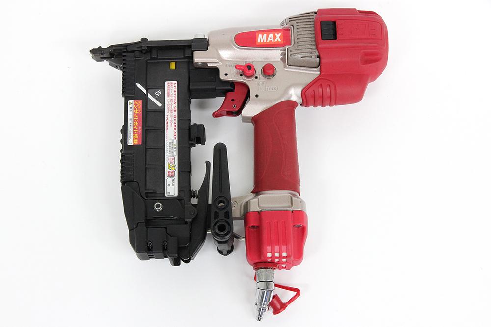 マックス 高圧ステープル用エアネイラ HA-50F1(D) 4MAフロア 高圧釘打機 スーパーネイラ